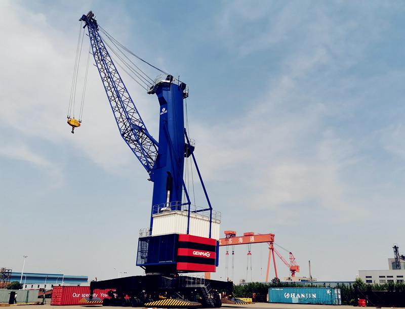 润邦重机中标105吨GENMA移动式港口起重机订单
