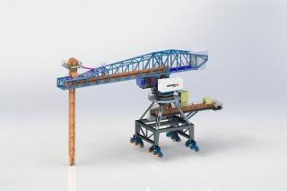 Scraper Ship Unloader (En masse conveyor)