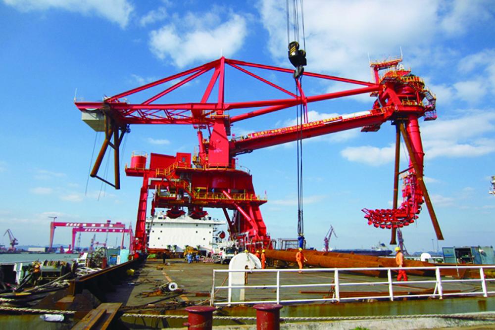 链斗式卸船机