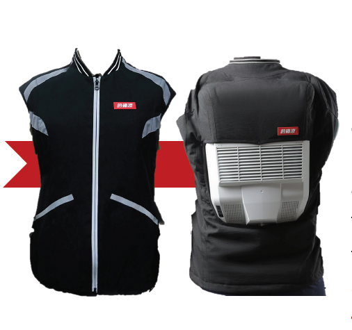 W-TEL-WAC-Series Wearable air conditioner cooling clothes