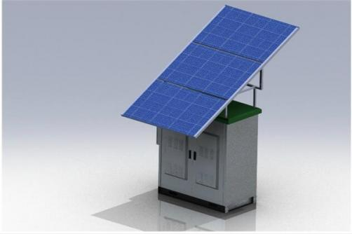 W-TEL-SPT-Series MPPT Solar power system base station