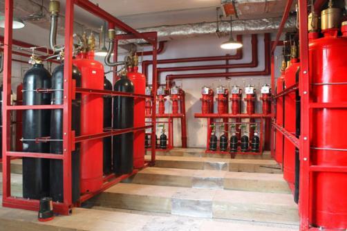 W-TEL-FM200-系列七氟丙烷消防系统