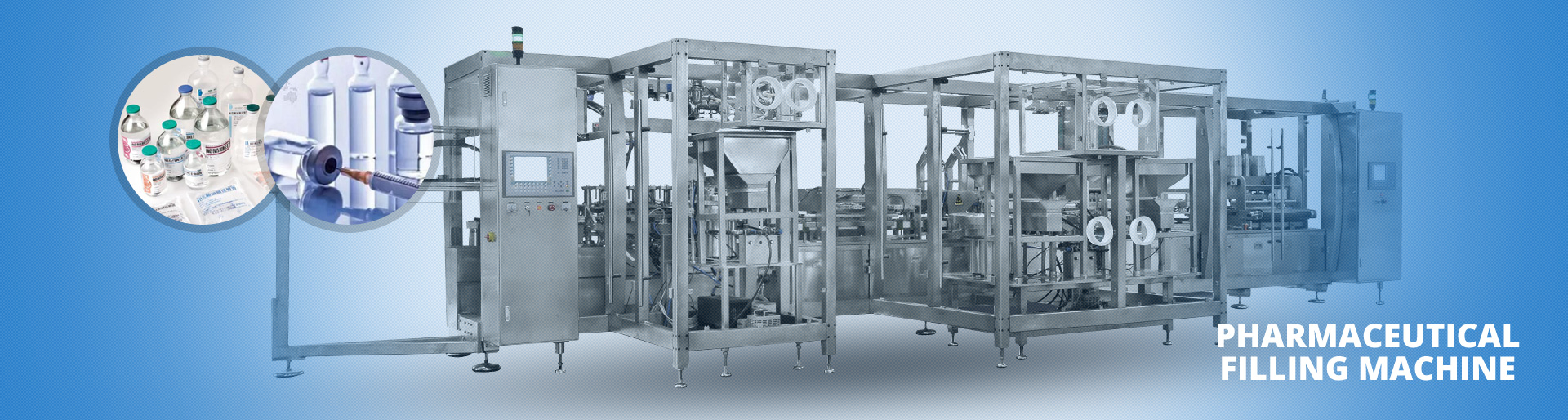 pharmaceutical filling machinery