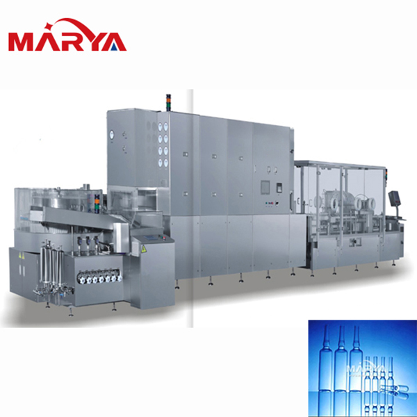 Pharmaceutical Ampoule Washing Sterilizing Filling Sealing Production Line