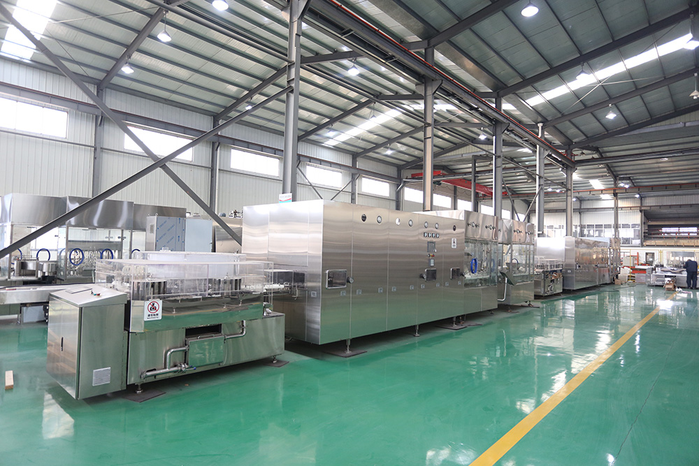 Automatic Glass Vial Washing Sterilizing Filling Stoppering Capping Production Line