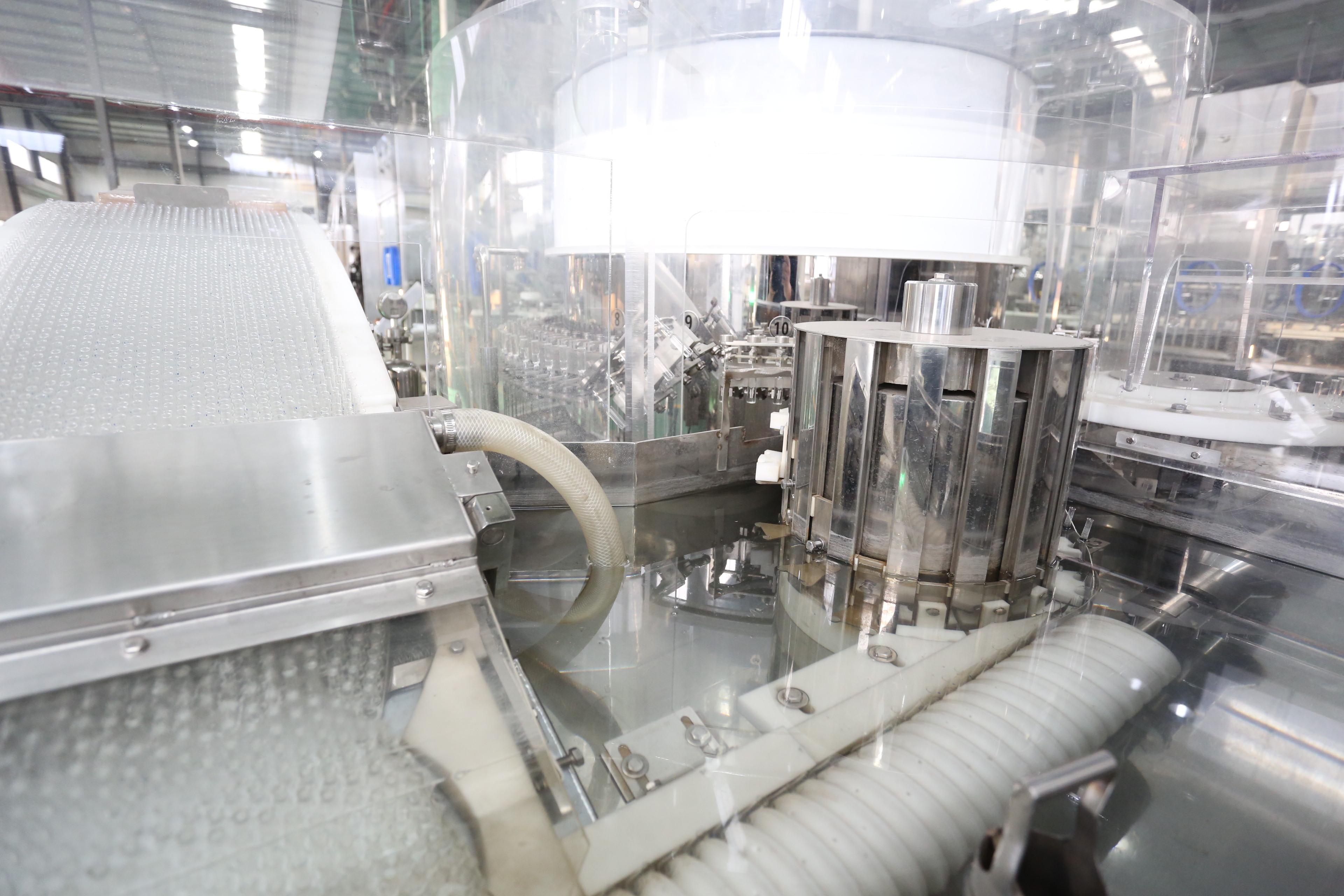Automatic Glass Ampoule Washing Sterilizing Filling Sealing Production Line