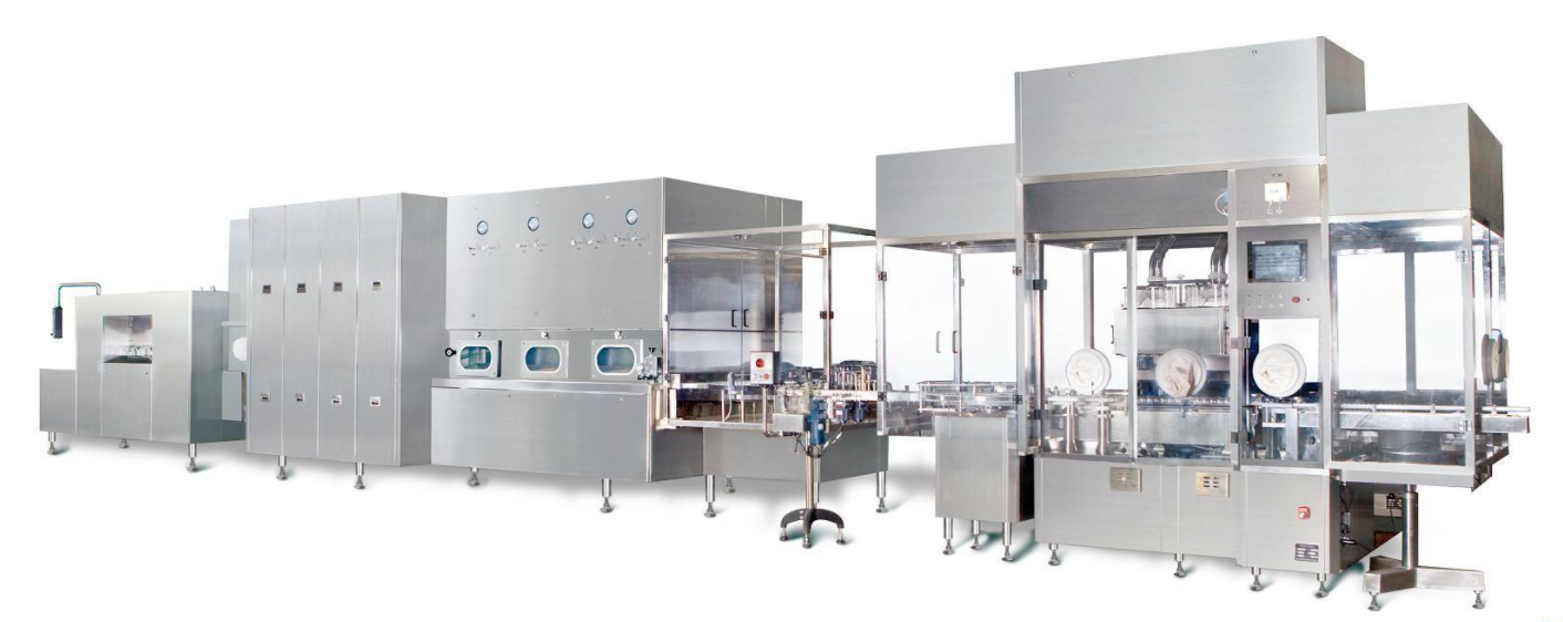 Vial Powder Screw Filling Capping Production Line