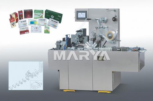 Transparent membrane automatic three dimensional packing machine