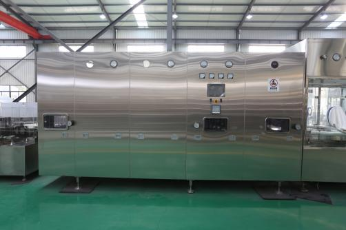 Hot Air Circulating Drying Sterilizing Tunnel Oven for Vial Bottle