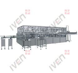 shanghai IVEN PP Bottle IV Solution Production Line