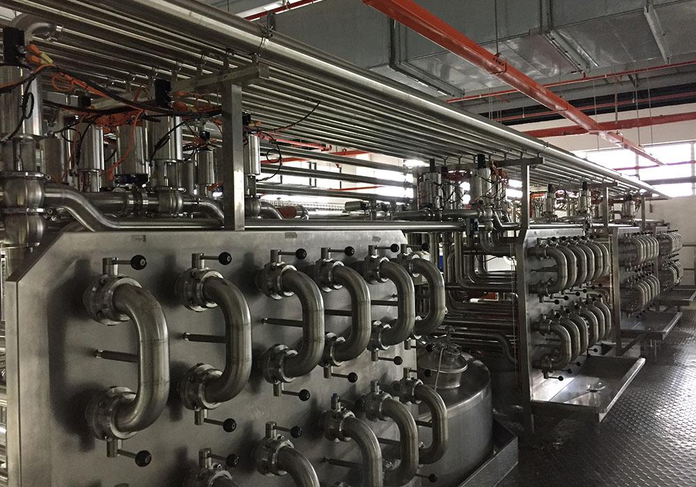 dairy processing line,dairy equipment,Yeo Hiap Seng-Soymilk ...