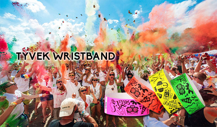 RFID Paper Wristband for Musical