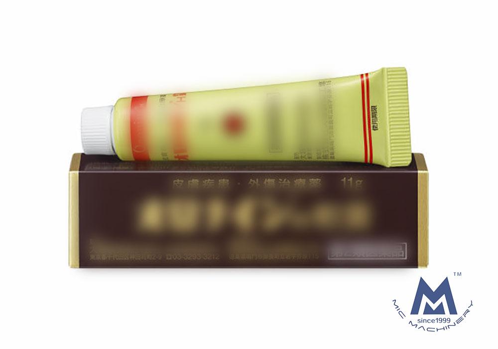 plastic tube filling sealing machine