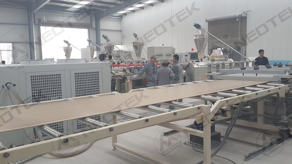 WPC Building Template Extrusion Line