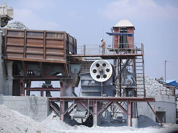 Complete Crushing Plant, limestone 150 t/h