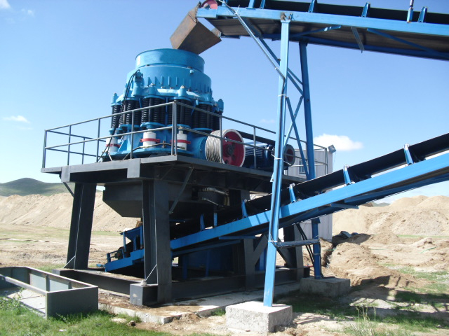 Aggregates Crushing Plant Supplied In Mongolia