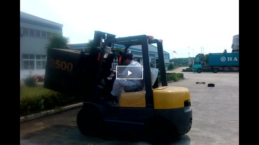 FD25 2.5Ton Diesel Forklift