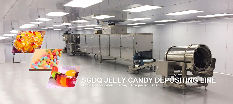 Jelly candy machine