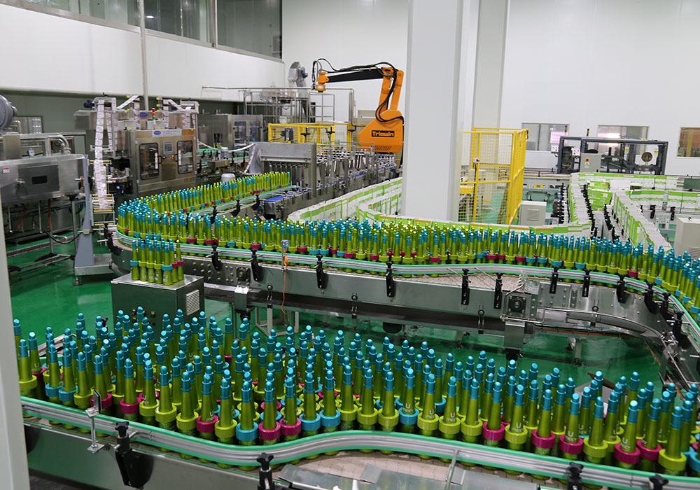 贵州茅台-蓝莓酒生产线
