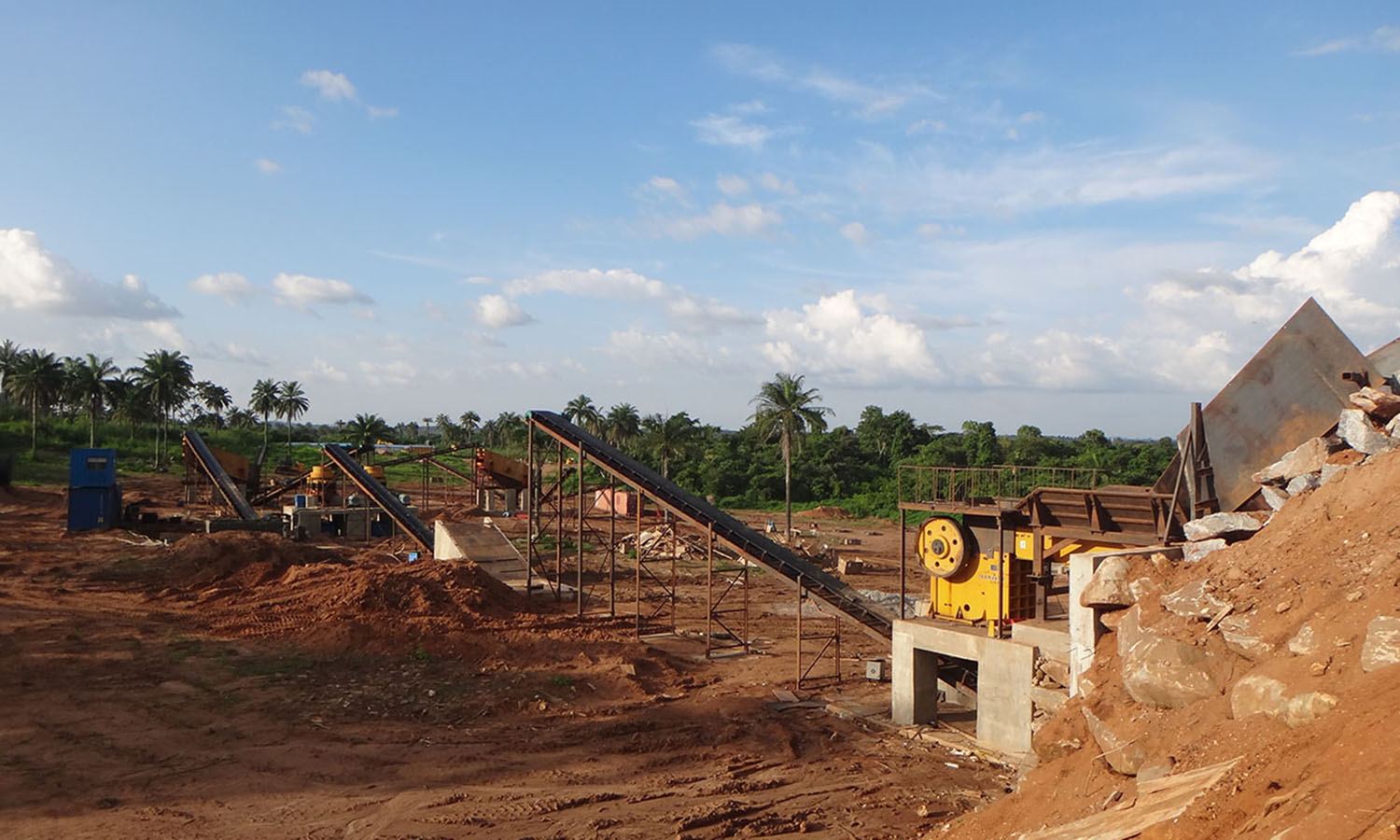 Granite Crushing Plant In Nigeria