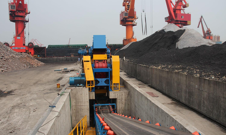 Plans de calcaire à Shanghai