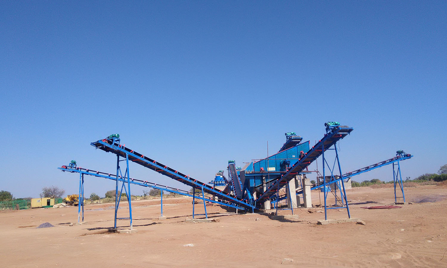 Granite Crushing Plant In Angola