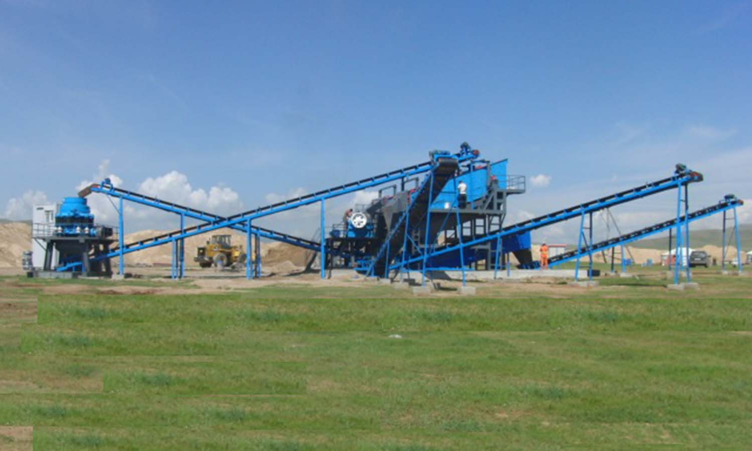 River Stone Crushing Plant In Mogolia
