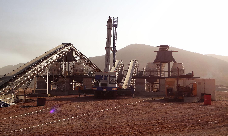 Granite Crushing Plant In Saudi Arabia