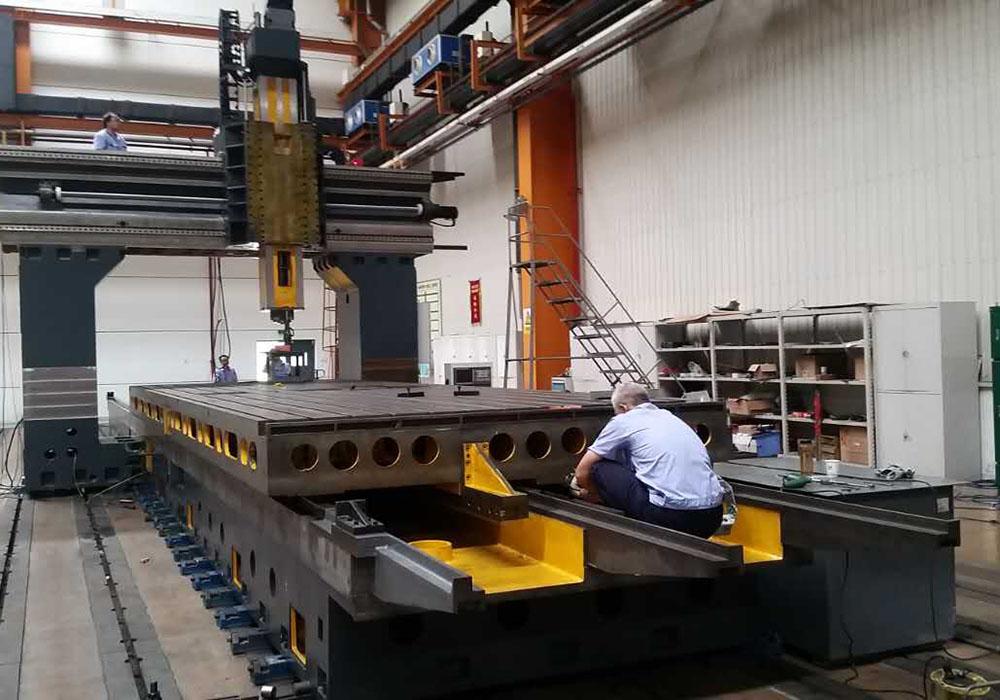 Assembling Gantry Type Vertical Machining Center