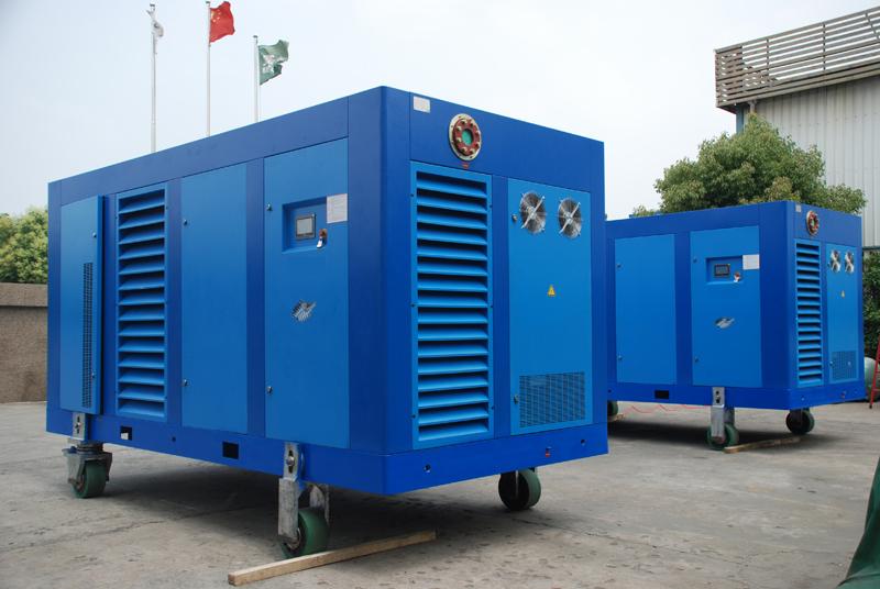 2014 año, compresor conrefrigeración de aire 45kw y 355kw por encargo