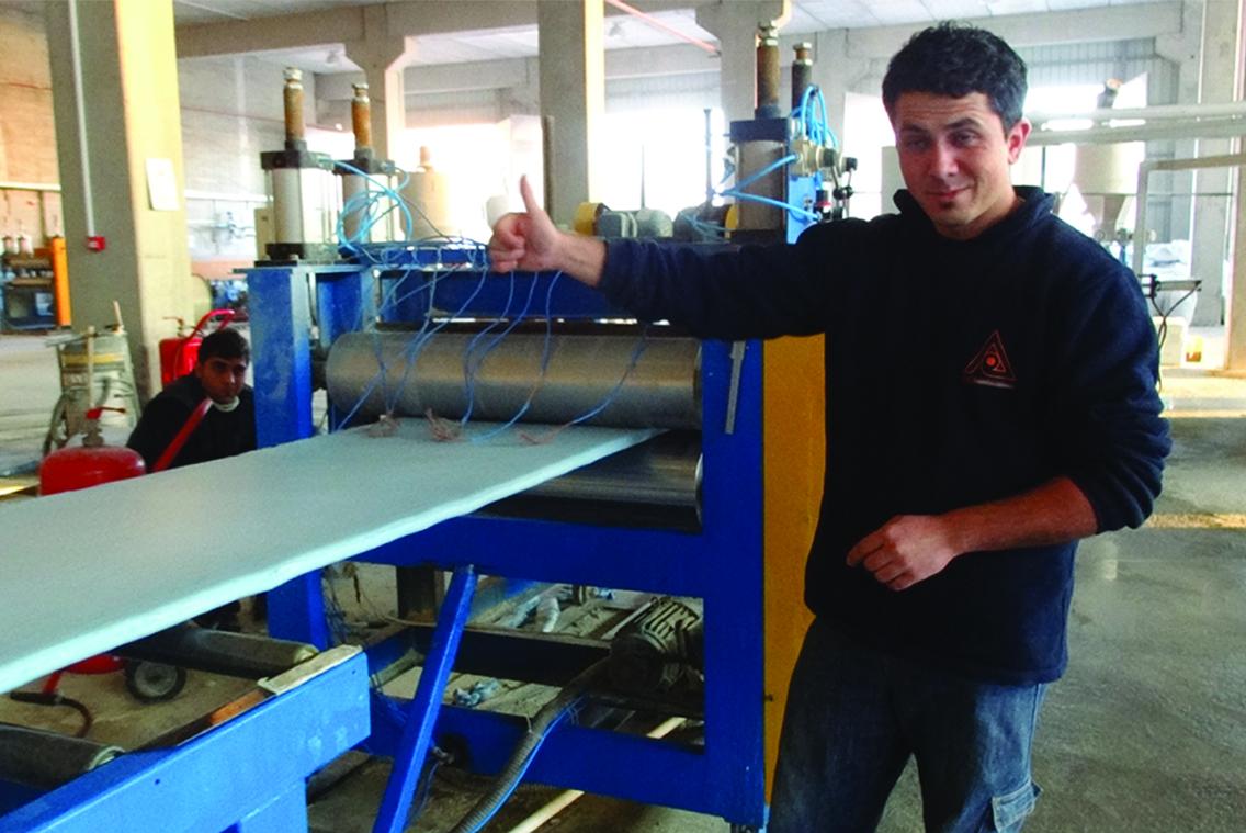 XPS Production Line in Ankara