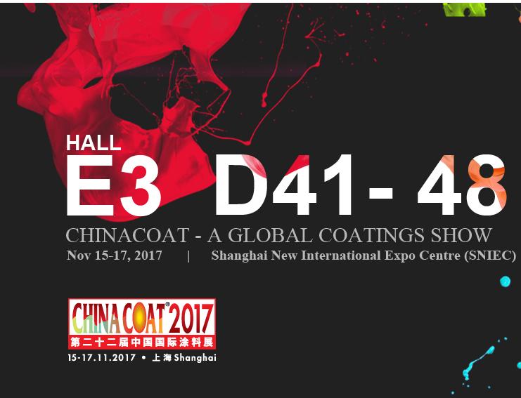 法孚莱应邀参加2017第二十二届中国国际涂料展CHINACOAT
