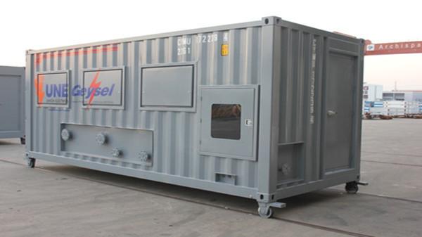 Oil-filtering platform Container 40'HC