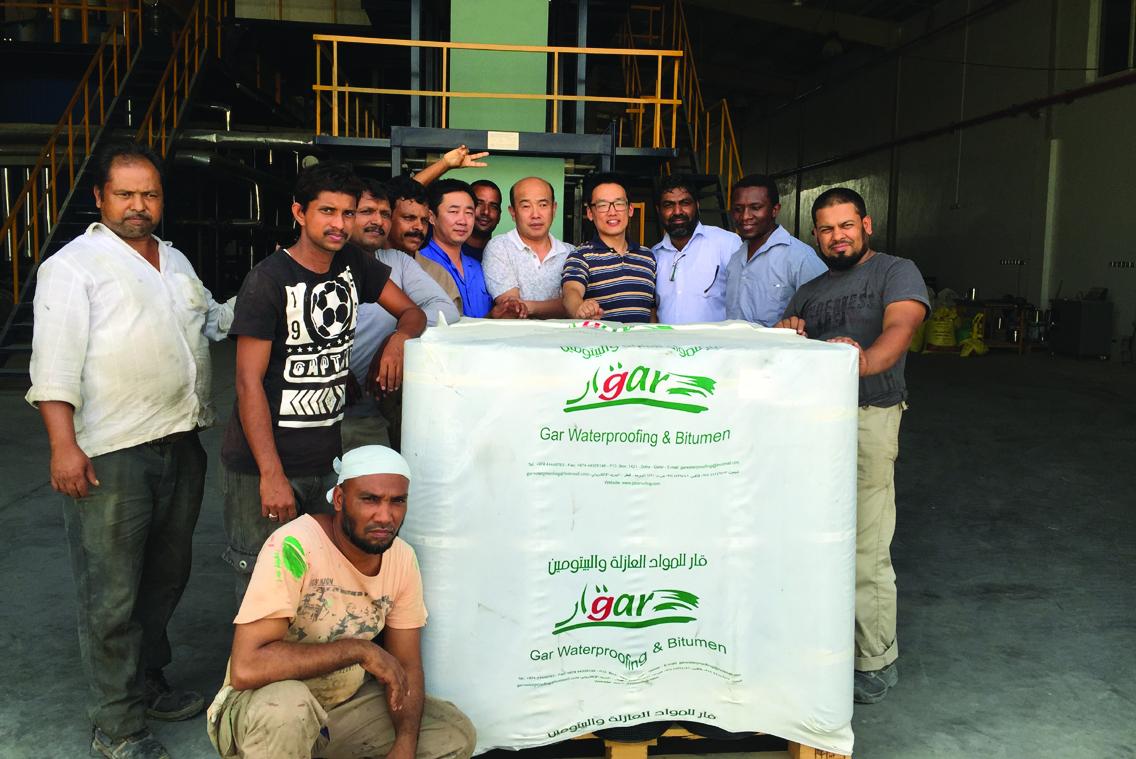 Bitumen Membrane Production Line in Doha, Qatar