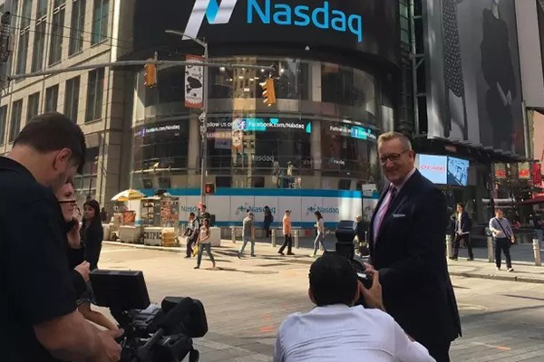 NASDAQ OPENING BELL BY KONECRANES
