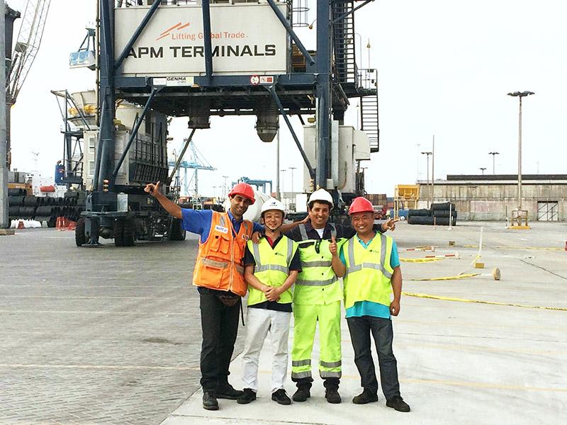 Maintenance-APM terminal