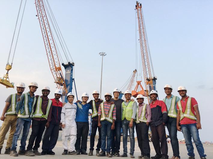 印度Paradip 港