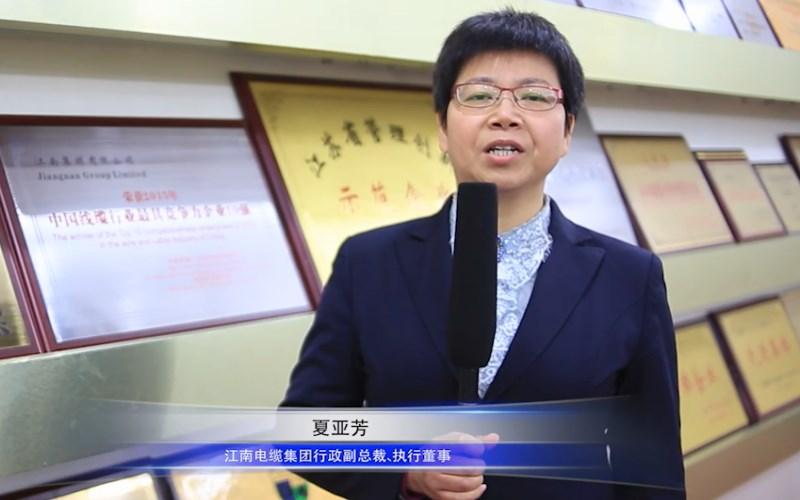 江南电缆有限公司行政副总裁、执行董事 夏亚芳