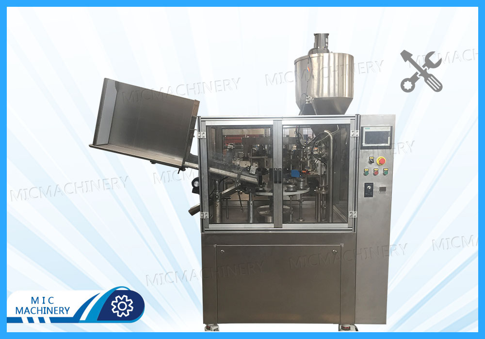 Commissioning MIC-L60 filling sealing machine for Belgian customers