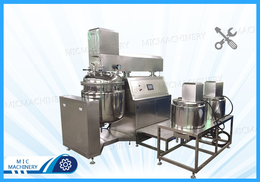 Commissioning mixer tank for Belgian customers
