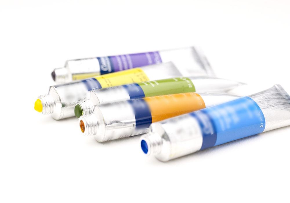 Paint tube filling sealing machine