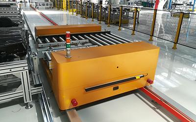 RGV厂内输送系统-滚筒式RGV