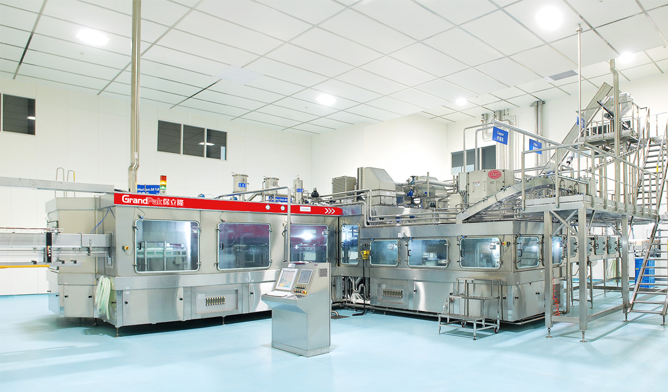 PET Cold Aseptic Filling Monoblock