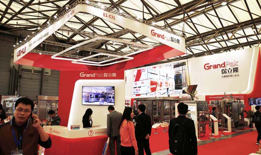 GrandPak appeared at Shanghai CBB2016 magnificently