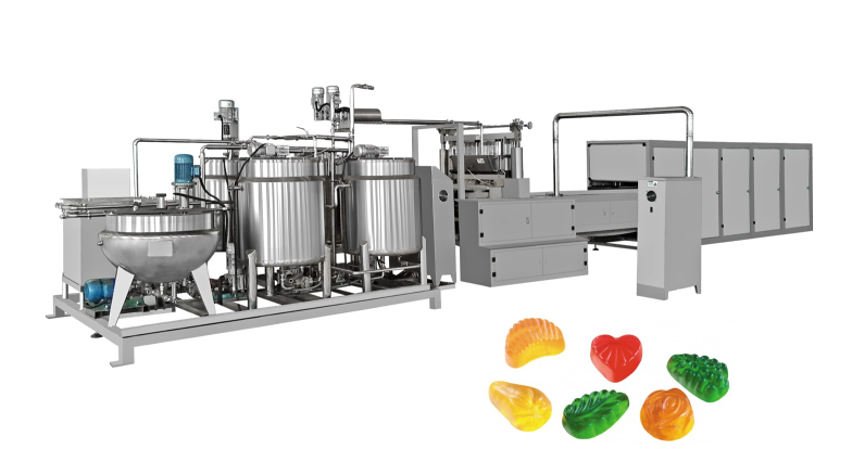Interested in YX Soft Candy Production Line ? Choose SHANGHAI YIXUN  MACHINERY MANUFACTURING CO.,LTD. YX Soft Candy Production Line Manufacturer